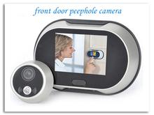 "3.5"" Movement detecting digital peephole Night Vision video door viewer"