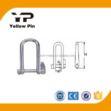 Shackle Key Pin AISI316 double captive pin marine rigging hardware, turnbuckls, eye bolt, stainless steel is available