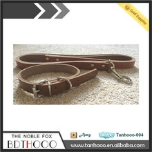 Handmade strong Rolled leather dog collar Handmade Dog Collar /Used Dog Training Collar