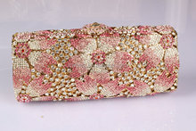 Rhinestone evening bag for women wholesale made in China bag factory