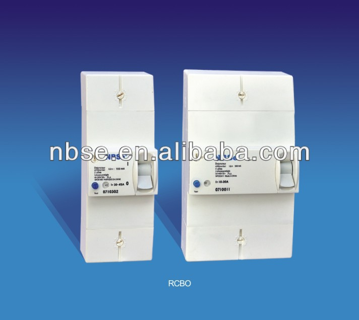 5-15A,10-30A,30-6A,60-90A Adjustable current RCBO Series Disjoncteur Differentiel comply with NFC61450 or NFC62411 250V/440V