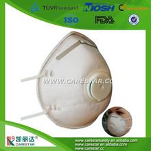 nonwoven disposable Dust respirator,FFP1,FFP2,N95,carbon active