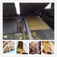 Factory price new condition Fully-automatic layer cake and swiss roll production line
