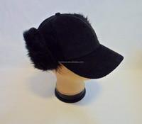 High Quality Custom Baseball Cap with Ear Flaps