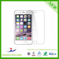 Factory Supply 9H Hardness 2.5D Mobile Phone tempered glass screen guard for iPhone 6 6 Plus