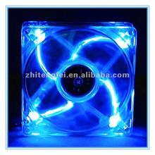 Hot Sale DC 80mm 8025 5V Blue Light Fan Cooling Waterproof Power Supply Fan CE ROHS Approved