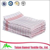 kitchen textile custom plain white linen cotton kitchen towel tea towel wholesale