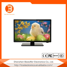 23.6 inch high quality high-resolution and portable professional manufacture PAL/SECAM+DVB-T/C cheap small tv