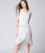 Wrap Front New Model Ladies Casual Dresses