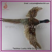 Taizhou Lucky Arts high quality artificial feather pheasant bird