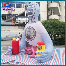 NB-ZO3001 Ningbang custom inflatable zombies cartoon ,inflatable advertising goods