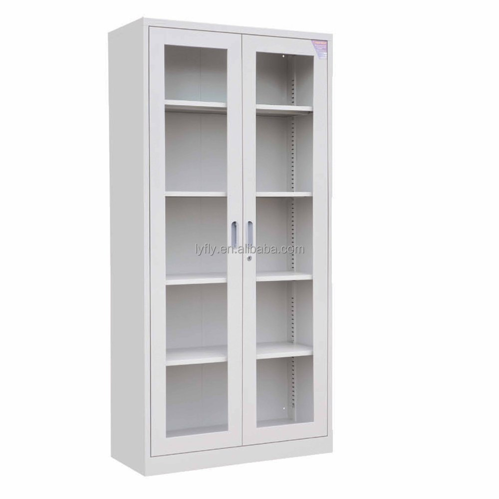 Kd Structure Good Design Steel Full Height Glass Door Cabinet Buy Laboratory Steel Glass Door
