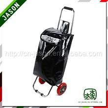 metal shopping trolley China laser film shopping tote bag