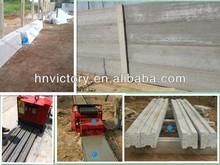 Concrete fence production/concrete column