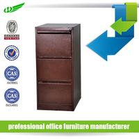 Modern design file hanging vertical metal assemble 2-drawer purple file cabinet