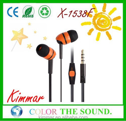 Stylish Plastic Earbuds with Light Weight for Wholesale