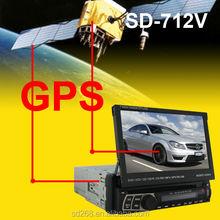 universal car dvd/car roof dvd/car dvd player with gps