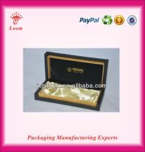 black factory price good quality paper pen box leather box pens