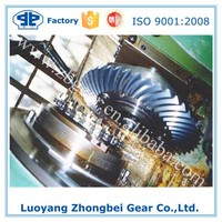 Customized Large High Precision Spiral Bevel Gear with Milling Teeth for Cement Mill