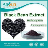 Factory Supply Black Bean Hull Extract Powder/Black Bean Hull Extract