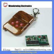 DC5V 4CH Transmitter Receiver Module Wireless Remote Control System IC 2262 . 2272 Momentery Latched 315MHZ