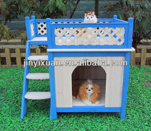 Manufacturing Princess Palace Cat House / Wood dog&cat room with a View Pet House