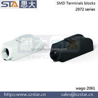 wire cross 0.5 to 1.5 mm2 on-board shadowing smd terminals
