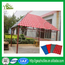 qualified excellent weather resistance durable plastic house roof cover materials spanish roof tile, house roof model
