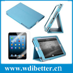 Folio Leather Stand Cover for Apple iPad 2 3 4 Magnetic Flip Stitch Case