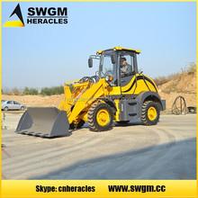 Hydraulic converter Four-wheel full hydraulic drive HR915F mini Wheel Loader with Drum Folder