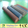 speckled recycled rubber gym flooring, black with red white green yellow grey blue or mixed color