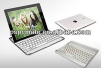 Aluminum alloy Bluetooth Wireless Keyboard for ipad2 ipad3 ipad4