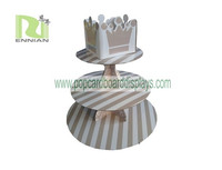 Paper Recycled Cardboard material cake pop display cake display rack
