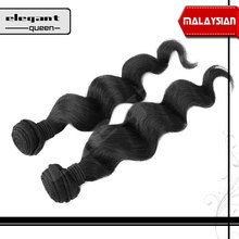 hight quality products loose wave virgin human hair extension Malaysian hair