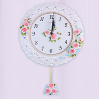 2015 factory direct selling wall decor clock European style high quality resin wall clock 0.7kg 24cm diameter world clock BY001