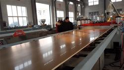 wood (rice husk straw wood) plastic (PP PE PVC) composite making machine/ wood plastic production line