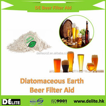 Food Grade Filter Aid Fresh Water Type Diatomiaceous Earth Beer&Red Wine Filter Aid For Alcoholic Beverage