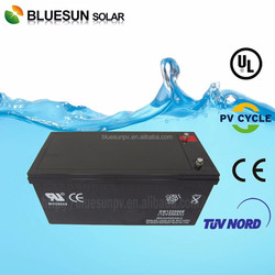 12v 200ah Sealed Solar system used maintenance free batteries batteries
