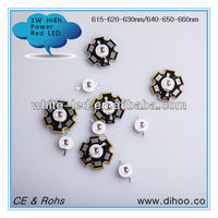 Best quality 3W high power led diode RED BLUE color,epistar chip
