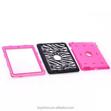 3in1 Hybrid Shockproof Case For iPad Air 2; For IPAD AIR Back Cover Case