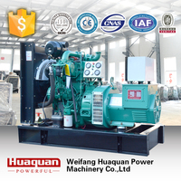 125kva soundproof lister generator for sale powered by yuchai engine