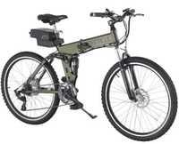 2016 new Baogl electric folding mountain bike hybrid electric bike