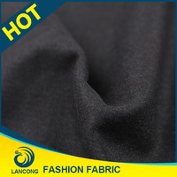 Shaoxing textile manufacturer Latest design Spandex cloth fabric wool fabric