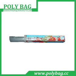 high transparent hdpe plastic freshing rolling bag for food