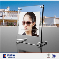 2015 New style clear acrylic photo frame, acrylic picture frame insert