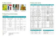 Polyol / Epoxy resin series