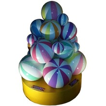 FRP Colorful Christmas balls for outdoor decoration