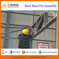HOT SALE galvanized steel shed for sale in New Zealand