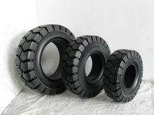 forklift solid tire,front tire 28/15,rear tire 6.5/10
