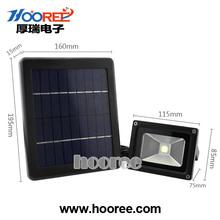 3W LED solar motion sensor security light